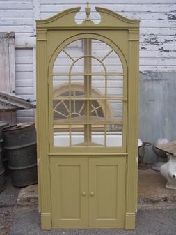 Corner Cabinet With Arched Door