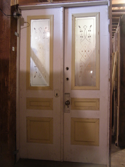 Antique plumbing architectural salvage inc exeter nh for 48 inch french doors
