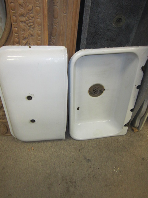 Enamel Laundry Sink Befon For