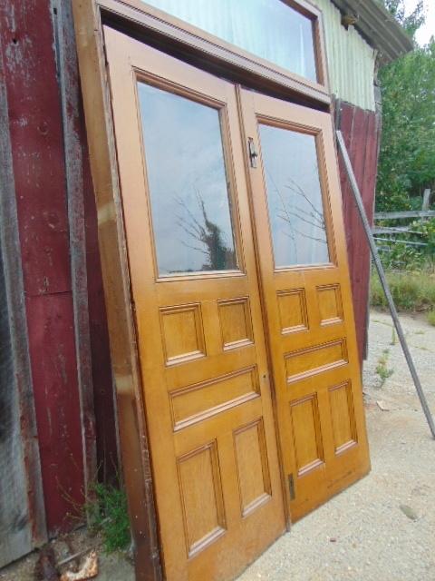 X54 Oak Double Doors 68 X 96