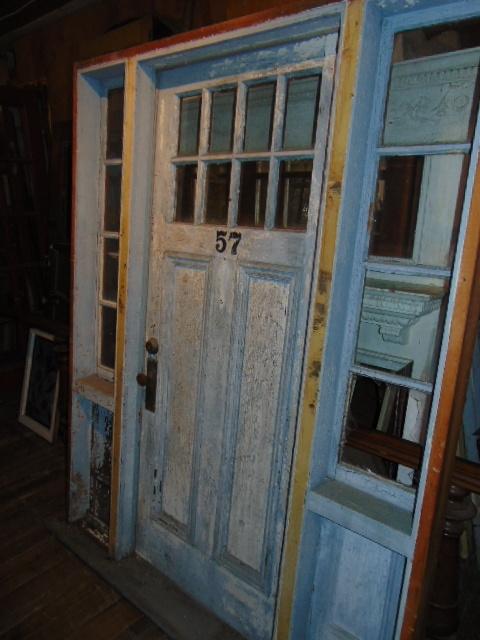 X22 42 x 90 & Antique Exterior Doors
