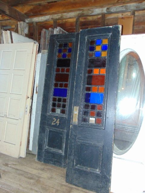 Antique Exterior Doors