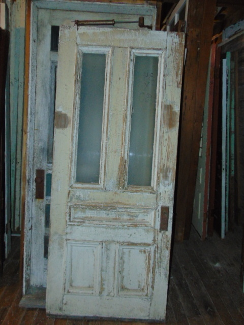 X48 Pair Measures 66 x 96 - Antique Exterior Doors