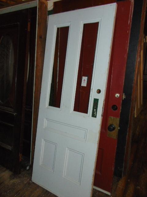 Antique Double Pane Door - Antique Exterior Doors