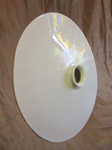 Milk Glass Reflector
