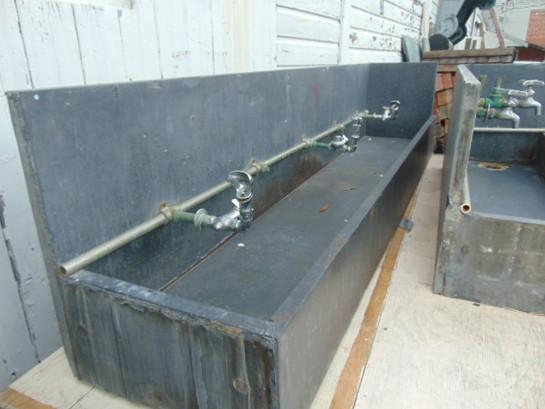 Beau Antique Salvage Slate Utility Sink