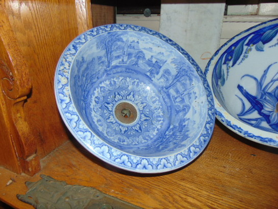 Highly Decorative Victorian Sink Bowl