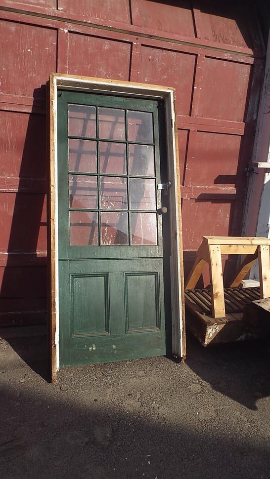 12 Dutch Door In Frame 36 X 82