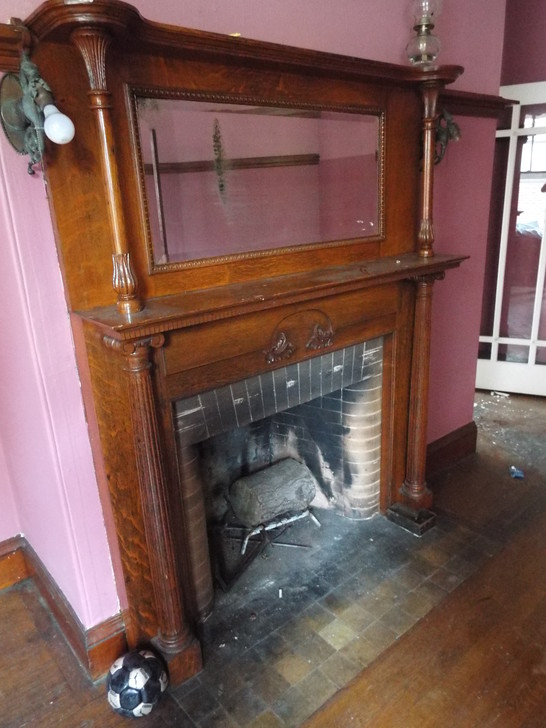 Two Tier Wooden Victorian Mantel