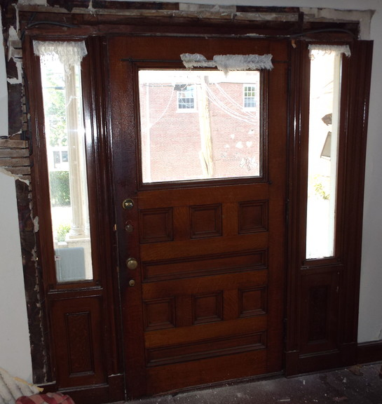 Antique Salvage Victorian Entryway