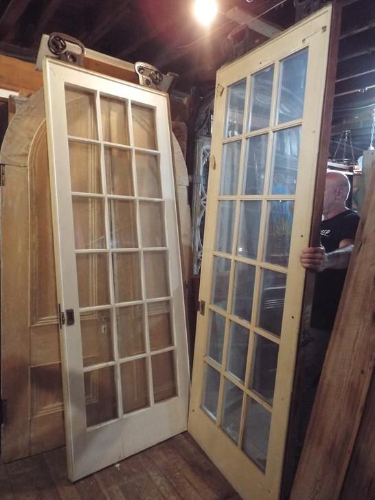 3 Pair of Pocket Doors 36 x 96 & Interior Doors