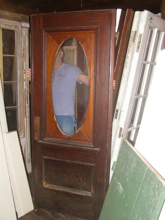 - Antique Exterior Doors