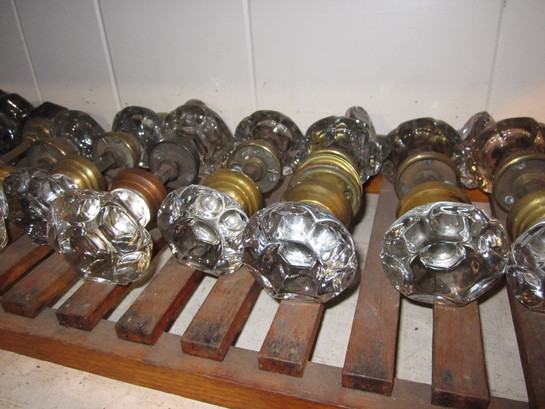 High End Fancy Glass Knobs